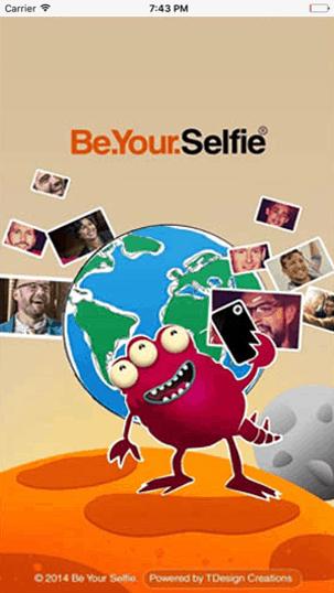 Development-programming-Android-mobile-application-BeYourSelfie-social-media-application