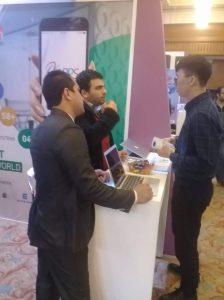شارك في المعرض العديد من الجنسيات داخل مصر و خارجها بهدف تطوير اعمالهم في مجال التطبيقات